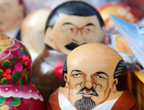 O Brasil cristão e os lacradores Soviets